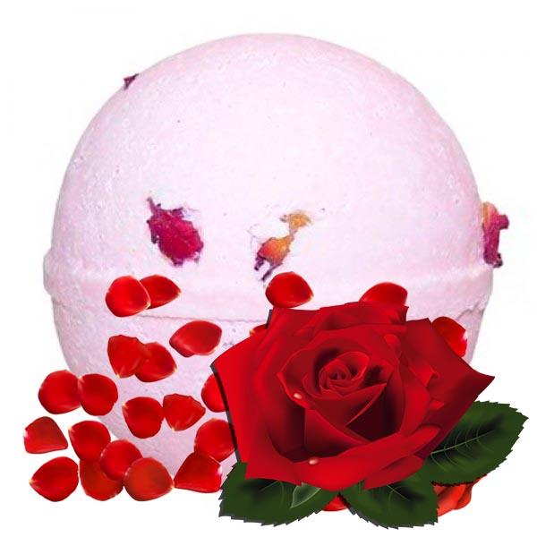 Bath Bomb Τριαντάφυλλο πέταλα